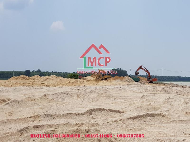 Giá cát xây dựng mới nhất năm 2020 – Thép Mạnh Cường Phát