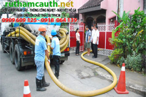 Chất lượng dịch vụ hút hầm cầu Hồng Phước