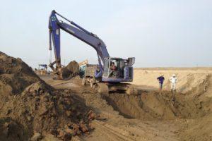 Cát xây dựng thường không có nhiều chỉ tiêu yêu cầu cao trong xây dựng