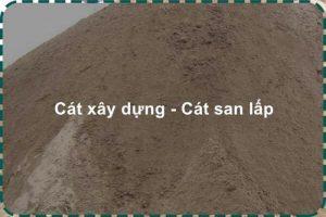 Giá cát san lấp – Xem ngay bảng giá