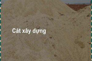 Giá cát xây dựng – Xem ngay bảng giá